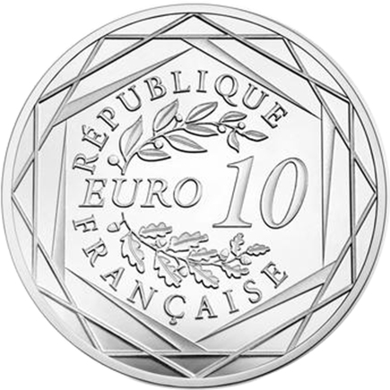 França 10€ 30 Anos da Queda do Muro de Berlim 2019 UNC