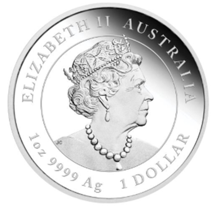 Austrália 1 Dollar 2020 Ano do Rato - 1 oz