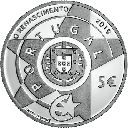 Portugal 5€ Renascimento Prata Proof 2019