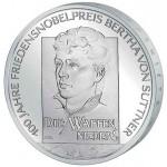 Alemanha 10€ - Letra F - 2005 - Bertha von Suttner