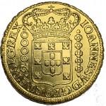 D. João V Dobrão (24000 Réis) 1727 Minas Gerais