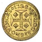 D. JOÃO V PINTO (CRUZADO) 1728