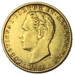 D. Luís 2000 Réis (1/5 Coroa) de 1868