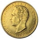 D. Luís 2000 Réis (1/5 Coroa) de 1881