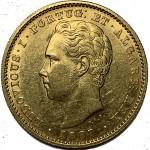 D. Luís 5000 Réis (1/2 Coroa) de 1887