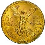 Mexico 50 Pesos ouro 1946
