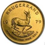 Africa do Sul Krugerrand ouro 1979
