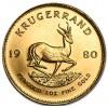 África do Sul Krugerrand ouro 1980