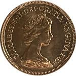 UK 1/2 Libra Elisabeth II