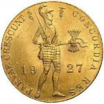 Holanda 1 Ducat 1927 ouro