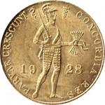 Holanda 1 Ducat 1928 ouro
