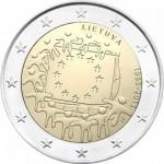 Lituânia 2€ 2015 - 30 Anos da Bandeira Europeia