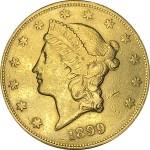USA 20 Dollars 1899 S Liberty