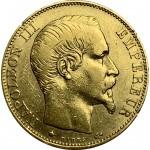 França 20 Francos 1860 Napoleão III