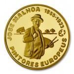 Portugal 2,50€ 2012 - Grandes Pintores - José Malhoa em Ouro