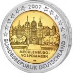 Alemanha 2€ Mecklenburg Vorpommern 2007
