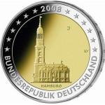 Alemanha 2€ Igreja St. Michaelis 2008