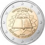 Áustria 2€ Tratado de Roma 2007