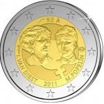 Bélgica 2€ Dia Internacional Mulher 2011