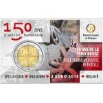 Bélgica 2€ 150 Anos da Cruz Vermelha Coincard 2014