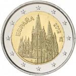 Espanha 2€ - Catedral de Burgos 2012