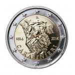 Itália 2€ Carabineri 2014