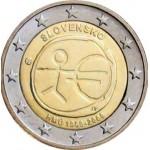 Eslováquia 2€ E.M.U. 2009