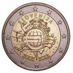 Eslovénia 2€ 10 Anos do Euro 2012