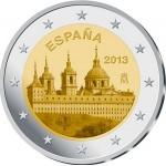 Espanha 2€ Escorial 2013