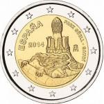 Espanha 2€ Gaudi 2014