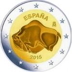 Espanha 2€ Grutas de Altamira 2015