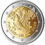 Finlândia 2€ Aniversário da ONu 2005