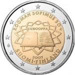 Finlândia 2€ Tratado de Roma 2007