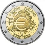Finlândia 2€ 10 Anos do Euro 2012