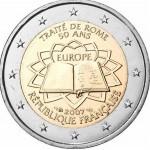 França 2€ Tratado de Roma 2007