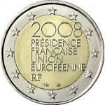 França 2€ Presidência do Conselho Europeu 2008