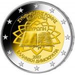Grécia 2€ Tratado de Roma 2007