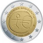 Grécia 2€ E.M.U. 2009