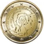 Holanda 2€ 200 Anos do Reino 2013