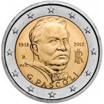 Itália 2€ Pascoli 2012