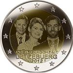 Luxemburgo 2€ Luxemburgo 2€ 2012  Casamento do Principe 2012