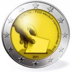 Malta 2€ 1ª Eleição representativa 2011