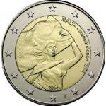 Malta 2€ A Independência 2014