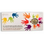 Portugal 2€ 60º Aniversário da Declaração dos Direitos Humanos Proof 2008