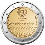 Portugal 2€ 60 Anos da Declaração Universal dos Direitos do Homem 2008