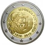 Portugal 2€ 100 anos da República Portuguesa 2010