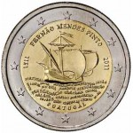 Portugal 2€ Fernão Mendes Pinto 2011