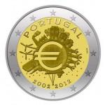 Portugal 2€ 10 Anos do Euro 2012