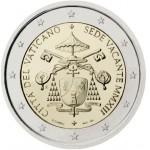 Vaticano 2€ Sede Vacante 2013