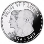 Espanha 30€ 25 Anos do Tratado Maastrichit 2017